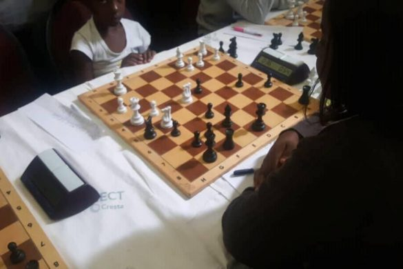 The 2018 Harare Chess Association (HCA) AfriSteel (30 June- 1 July) @ Cresta Jameson Hotel Open Section won by Zambian Timothy Kabwe..!